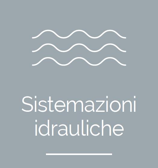 sistemazioni idrauliche