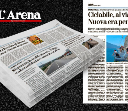 In bicicletta da Brenzone a Torbole attraverso il Lago di Garda